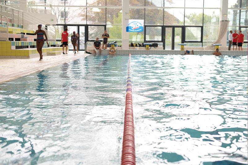 Ligne d'eau pour pratiquer la natation