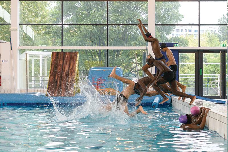 Jeux d'eau pour enfants