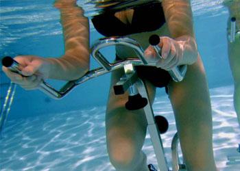 Activités aquagym et aquabike