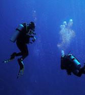 Fosse de plongée sous marine